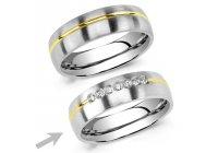 Ocelový snubní prsten RRC2048z