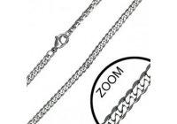 Ocelový řetízek - pancr 3 mm