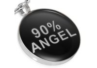 Barevný ocelový přívěsek - 90% ANGEL