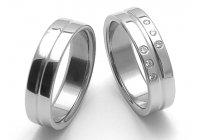 Ocelové snubní prsteny SRZ6118