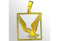 Zlatý přívěsek - Orel