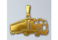 Zlatý přívěsek - Kamion