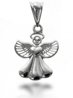 Stříbrný přívěsek - anděl