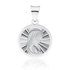Stříbrný přívěsek - madonka