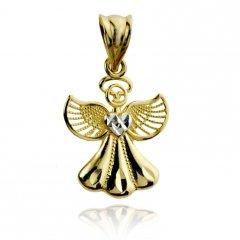 Zlatý přívěsek - anděl