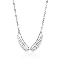 Stříbrný náhrdelník - křídla
