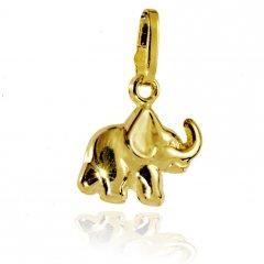 Zlatý slon 10 x 8 mm
