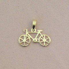 Zlatý přívěsek - Jízdní kolo