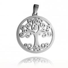 Ocelový přívěsek Strom života