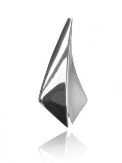 Atypický stříbrný přívěsek lesk/mat