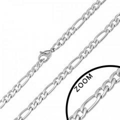Ocelový náhrdelník - figaro 5 mm