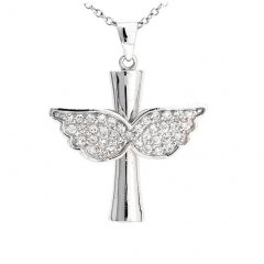 Stříbrný přívěsek - stylizovaný anděl