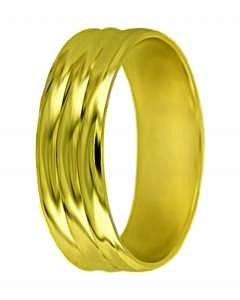 Snubní prsten A2 žluté zlato