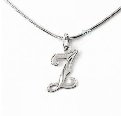 Stříbrný přívěsek - písmeno Z