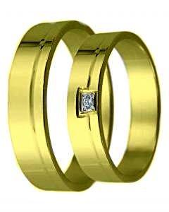 Snubní prsten D 12