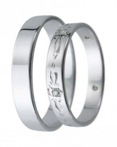 Snubní prsten D 21