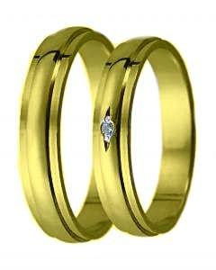 Snubní prsten D 22