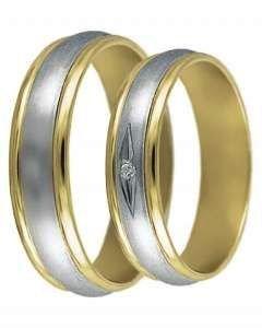 Snubní prsten Dana 3/K
