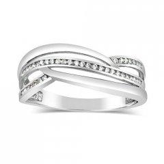 Stříbrný prsten MARISA se zirkony
