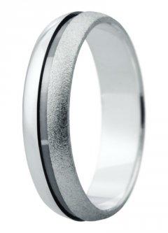 Snubní prsten Eliška 20 bílé zlato