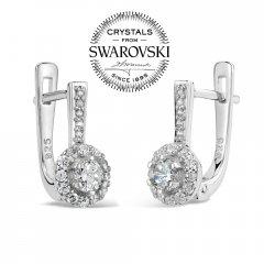 Stříbrné náušnice VIVIANA se Swarovski® Zirconia