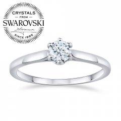 Stříbrný prsten Swarovski Zirconia® AIMEE