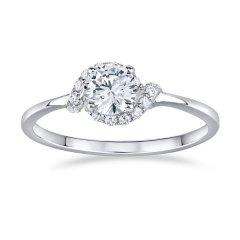 Stříbrný prsten se zirkony JULIETTE