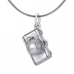 Stříbrný přívěsek - fotoaparát