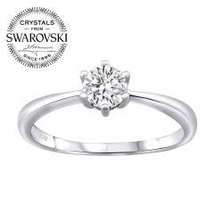 Stříbrný prsten SOPHIA se Swarovski Zirconia®