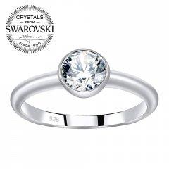 Stříbrný prsten ISADORA se Swarovski Zirconia®