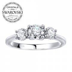 Stříbrný prsten VICTORIA se Swarovski Zirconia®