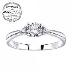 Stříbrný prsten MELAYNA se Swarovski Zirconia®