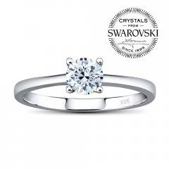 Stříbrný prsten MADISON se Swarovski Zirconia®