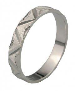 Snubní prsten Káťa 4/CH