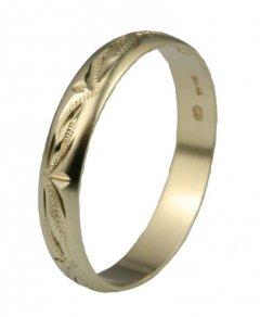 Snubní prsten Lada 2/D