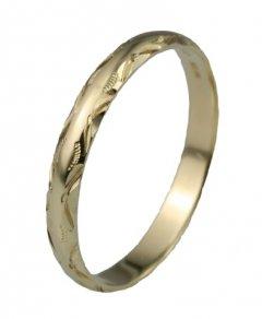Snubní prsten Lada 3/G