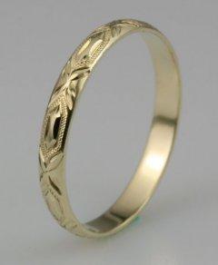 Snubní prsten Lada 3/C