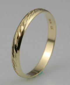 Snubní prsten Lada 3/CH