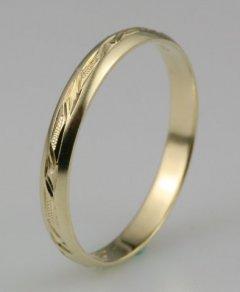Snubní prsten Lada 3/F