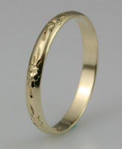 Snubní prsten Lada 3/I