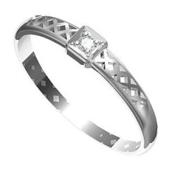 Zásnubní prsten Leonka 002