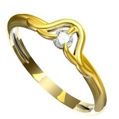 Zásnubní prsten Leonka 005