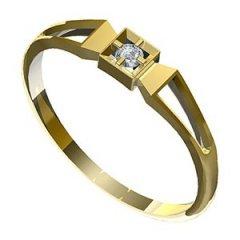 Zásnubní prsten Leonka 006