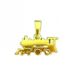 Zlatý přívěsek Lokomotiva malá