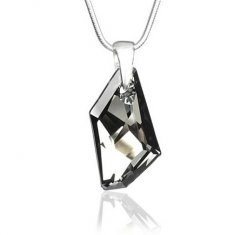 Přívěsek Swarovski CRYSTALLIZED™ De-Art Crystal Silver Night