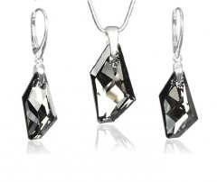 Souprava Swarovski CRYSTALLIZED™ De-Art Silver Night