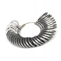 Měřící kroužky na prsteny