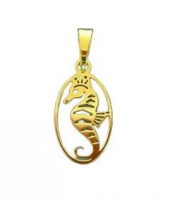 Zlatý přívěsek Mořský koník