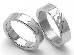 Ocelové snubní prsteny SRZ5011
