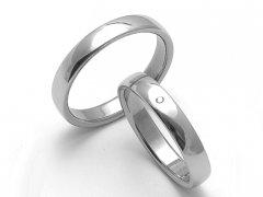 Ocelové snubní prsteny SRZ1400